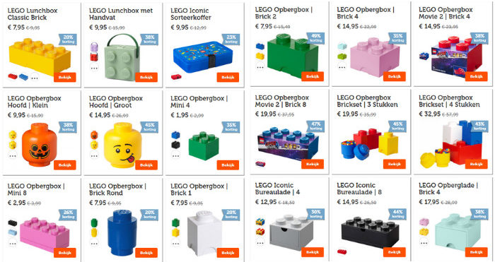 LEGO opslag deals