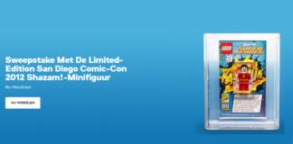 San Diego Comic-Con 2012 Shazam! Minifig Sweepstake