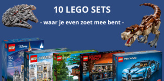 10 LEGO sets waar je even zoet mee bent