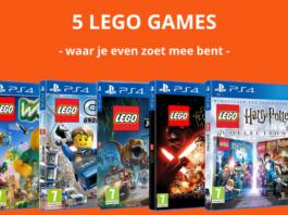 5 LEGO games waar je even zoet mee bent