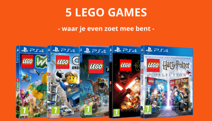 5 LEGO games waar je even zoet mee bent