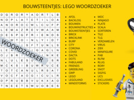 Bouwsteentjes_ LEGO Woordzoeker