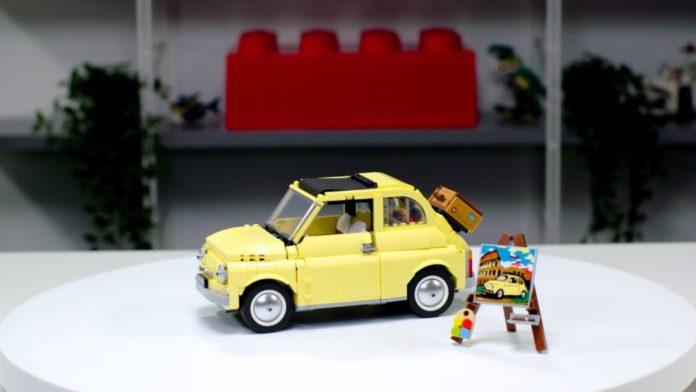 Designer Video LEGO Fiat 500F
