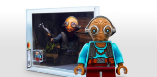 Graded Maz Kanata Minifig Sweepstake