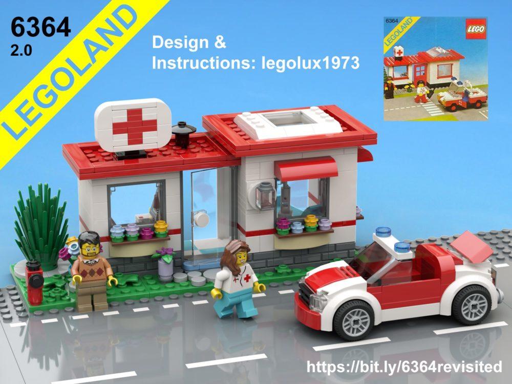 LEGO 6364 Paramedic Unit 2.0
