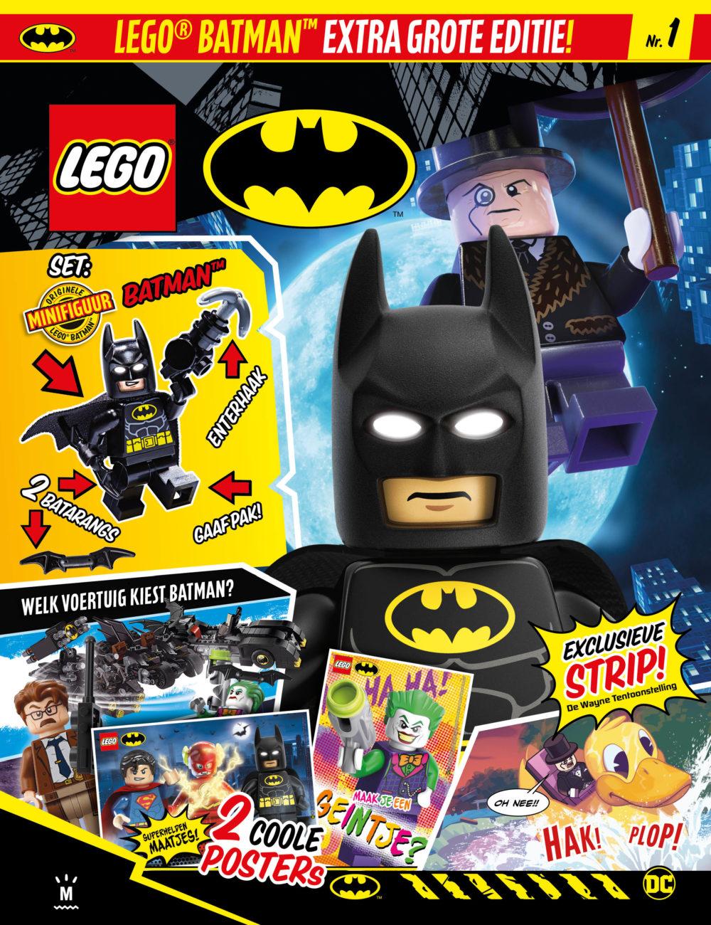 LEGO Batman magazine 2020
