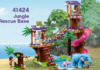 LEGO Friends 41424 Jungle Rescue Base - LEGO Friends 41430 Summer Fun Water Park
