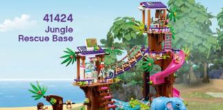 LEGO Friends 41424 Jungle Rescue Base - LEGO Friends 41430 Summer Fun Water Park
