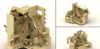 LEGO Ideas Relativity (M. C. Escher)