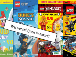 LEGO Magazines en boeken maart 2020