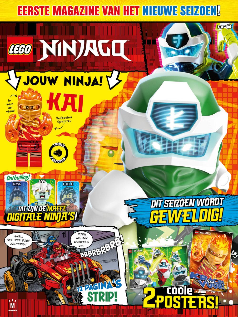 LEGO Ninjago magazine 2020
