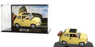 Wicked Brick LEGO Fiat 500 F Display