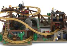 LEGO Ideas Gold Rush Mine Train Roller Coaster