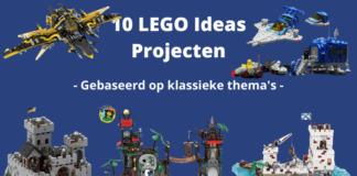 10 LEGO Ideas projecten gebaseerd op klassieke thema's
