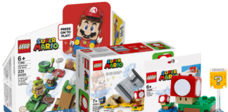 Alles over LEGO Super Mario