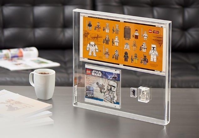 Graded Limited-edition LEGO White Boba Fett
