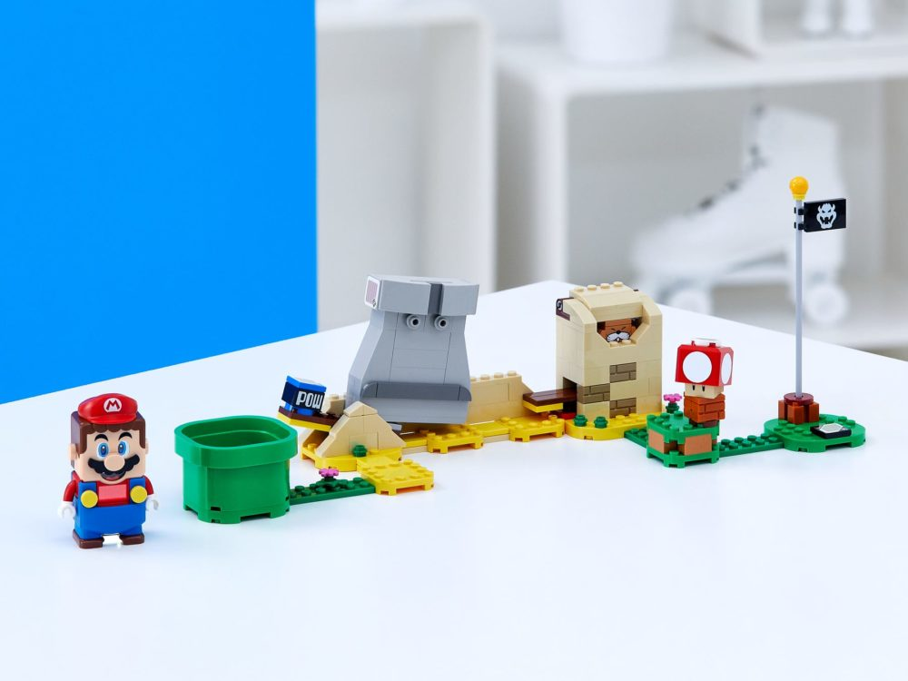 Gratis LEGO Super Mario 40414 Monty Mole & Super Mushroom Expansion Set