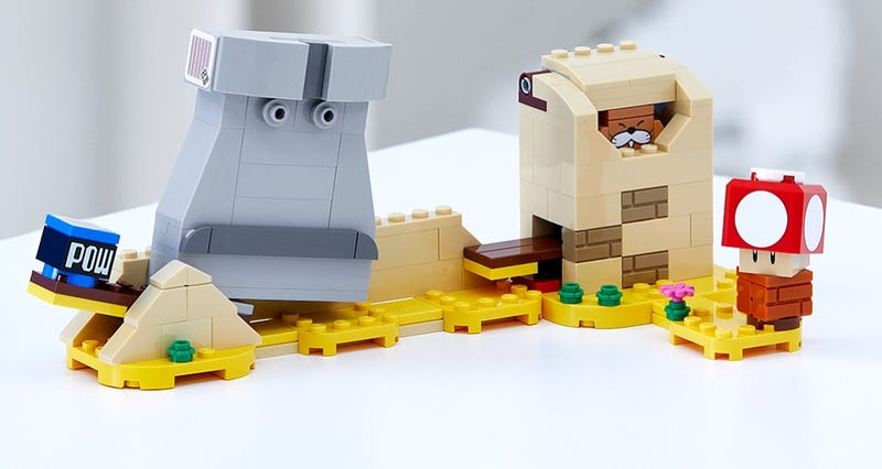 Gratis LEGO Super Mario Monty Mole & Super Mushroom
