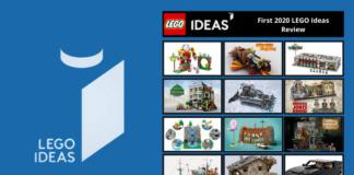 Kandidaten eerste LEGO review 2020