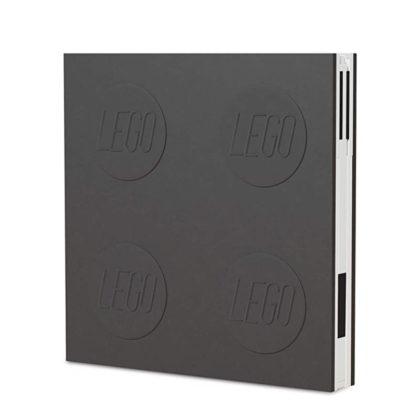 LEGO 2.0 Locking Notebook with Gel Pen - Black