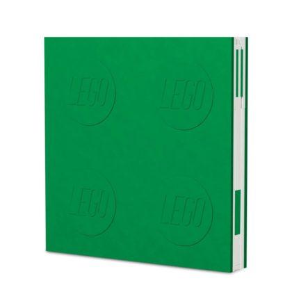 LEGO 2.0 Locking Notebook with Gel Pen - Green