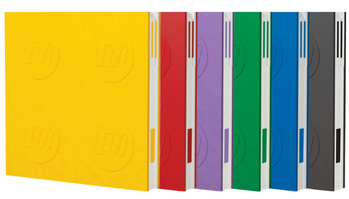 LEGO 2.0 Locking Notebooks