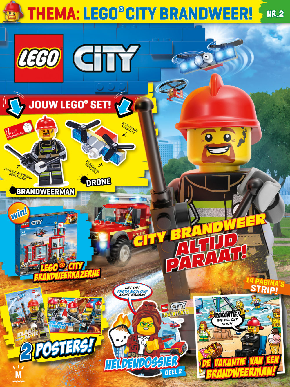 LEGO City Magazine nr. 2