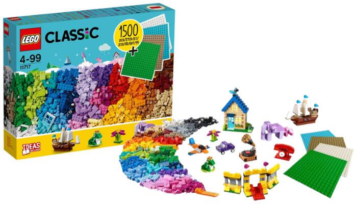 LEGO Classic 11717 Bricks and Plates