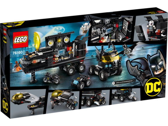 LEGO DC 76160 Mobile Bat-Base