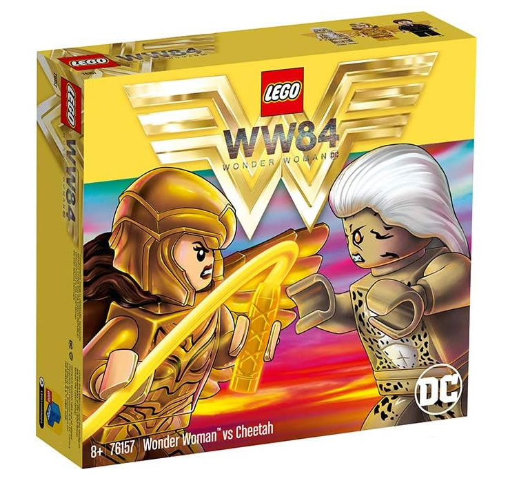 LEGO DC Comics 76157 Wonder Woman vs Cheetah