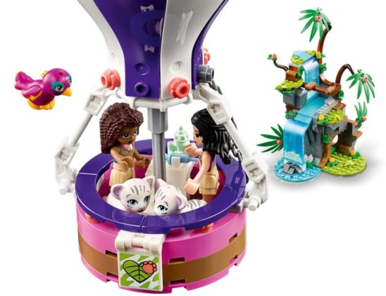LEGO Friends 41423 Tiger Hot Air Balloon Jungle Rescue
