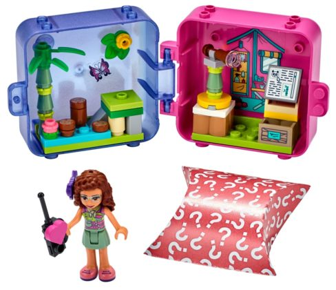 LEGO Friends 41436 Olivia's Jungle Cube - Nursery
