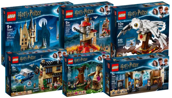 LEGO Harry Potter 2020 sets