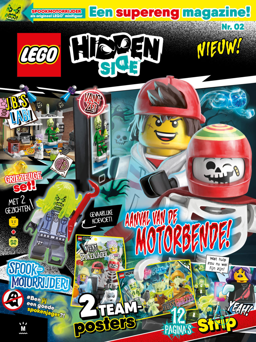 LEGO Hidden Side Magazine nr. 2 2020