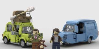 LEGO Ideas Mr. Bean Against Three-wheels