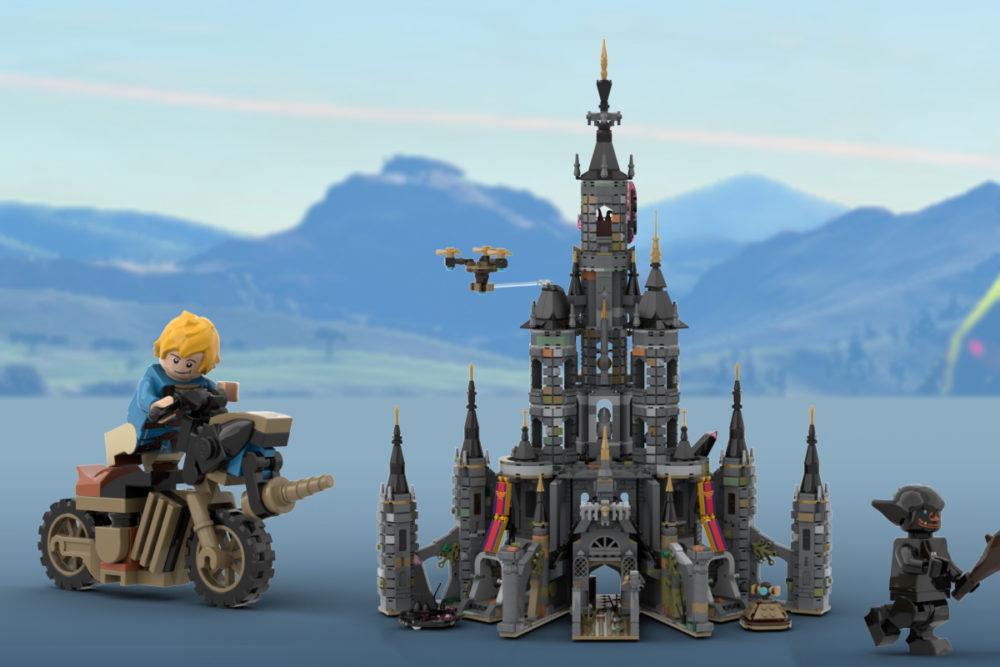 LEGO Ideas The Legend of Zelda Hyrule Castle