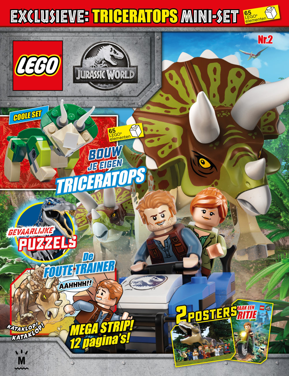 LEGO Jurassic World Magazine nr. 2