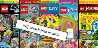 LEGO Magazines en boeken april 2020