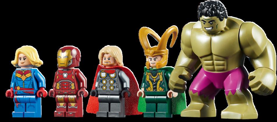 LEGO Marvel 76152 Avengers Wrath of Loki (1)