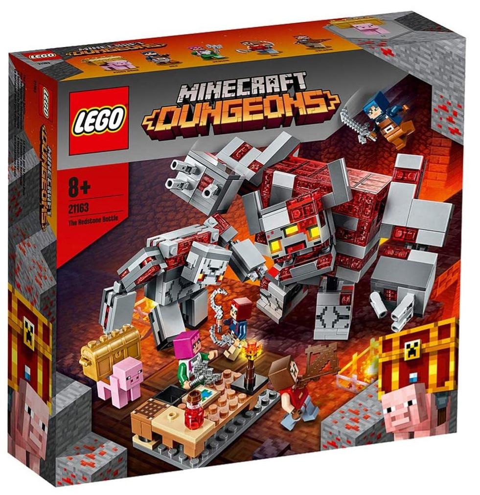 LEGO Mincraft 21163 The Redstone Battle