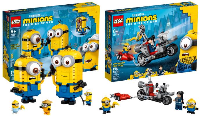 LEGO Minions verkrijgbaar