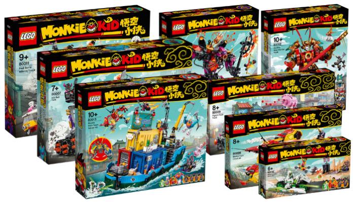 LEGO Monkie Kid sets opgedoken