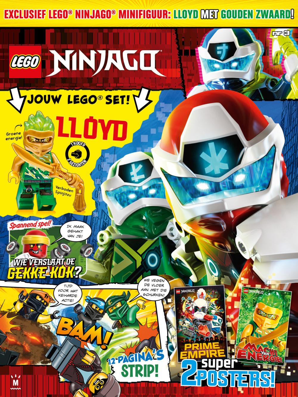 LEGO Ninjago Magazine nr. 3