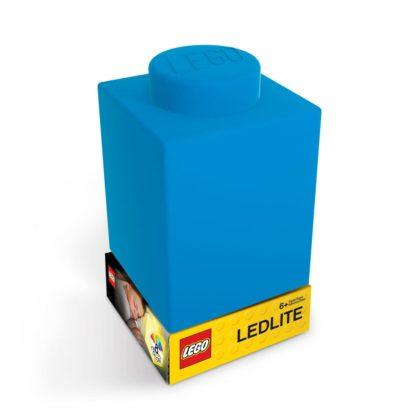 LEGO Silicone Brick Nightlight Blue