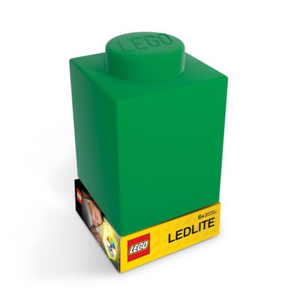 LEGO Silicone Brick Nightlight Green