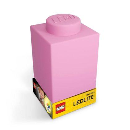 LEGO Silicone Brick Nightlight Pink