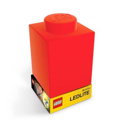 LEGO Silicone Brick Nightlight Red