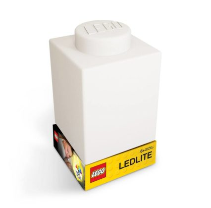 LEGO Silicone Brick Nightlight White