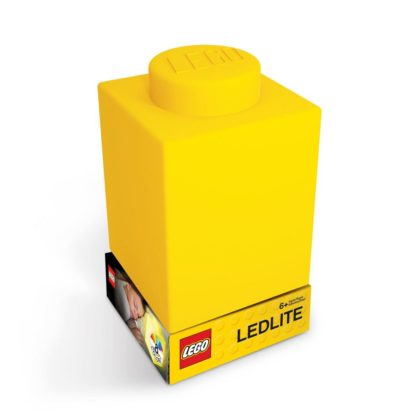 LEGO Silicone Brick Nightlight Yellow