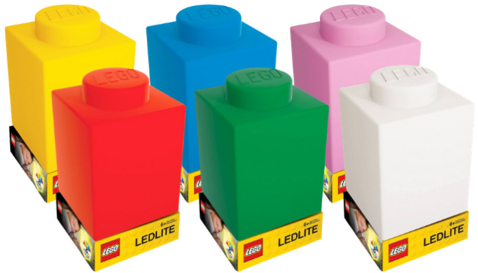 LEGO Silicone Brick Nightlights